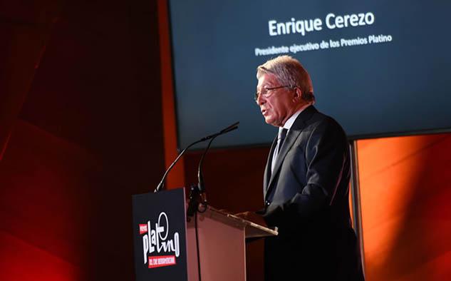 Enrique Cerezo, presidente ejecutivo de los Premios Platino.