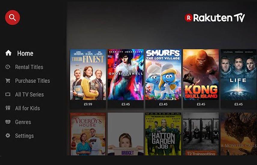 Rakuten TV es una de las plataformas líderes de VOD en Europa que ofrece los últimos estrenos de películas con la última tecnología en una verdadera experiencia cinematográfica disponible en Smart TV.