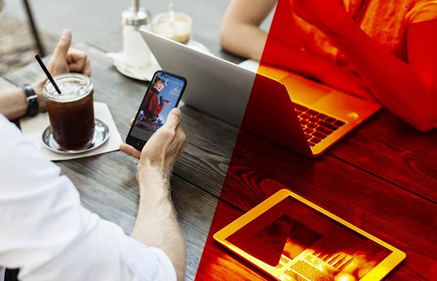 Los medios digitales son responsables del mayor impacto en las ventas con una contribución del 46% en los ingresos de taquilla, y tienen solo el 14% de los presupuestos de marketing.