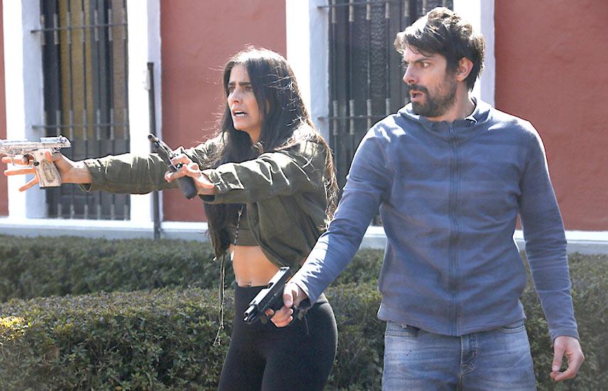 """La producción de la 2da temporada de """"Rosario Tijeras"""" ya finalizó en la Ciudad de México."""
