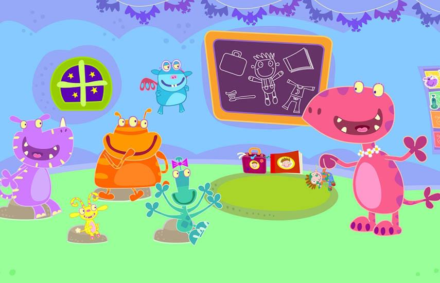 La serie ayuda a los niños a prepararse para la vida escolar explorando el primer año de un niño a través de las experiencias de los mini monstruos.