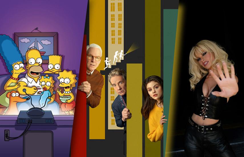 El 31 de agosto estrenará exclusivamente en la plataforma, la temporada número 32 deLos Simpson; Only Murders in the Building, protagonizada porSteve Martin,Martin Short, y Selena Gómez, y el drama biográficoPam & Tommy.