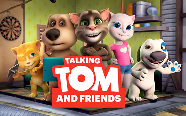 """Talking Tom And Friends"""