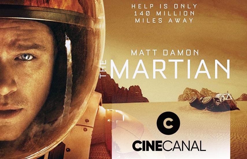 """""""The Martian: Misión Rescate"""", con Matt Damon como figura central, es uno de los estrenos del primetime dominical."""