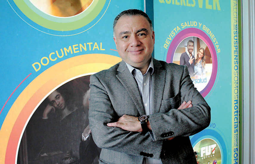 Jorge Gutiérrez, director de TV de Paga de TV Azteca Internacional.