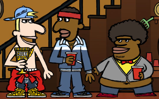 Legends of Chamberlain Heights, Comedy Central