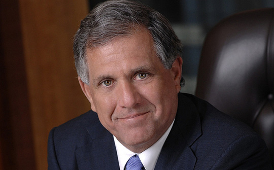 Leslie Moonves, presidente y CEO de CBS Corporation.
