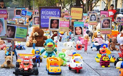 """Campaña """"Marcha de los juguetes"""", Guatemala"""