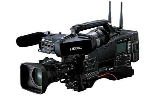 plataforma P2 Cast opera en conbinación con videocámaras de P2HD