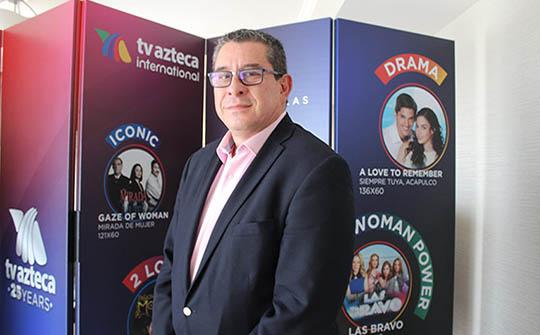 Ramón Salomón, director de operación de contenidos de TV Azteca Internacional