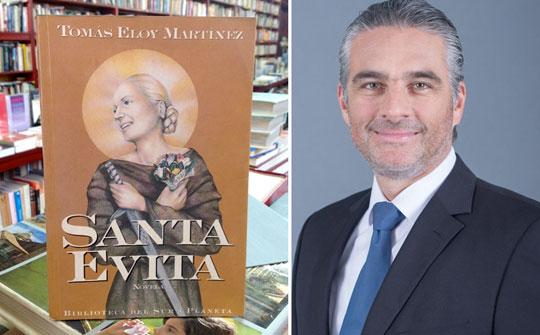 Fox adquirió los derechos del best seller Santa Evita anunció Edgar Spielmann