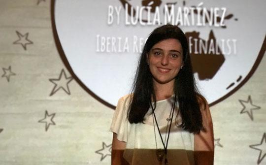 Lucía Martínez, ganadora del gran premio del festival Picture This! 2016
