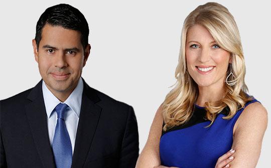 César Conde, chairman de NBCUniversal International, y Laura Molen, VP ejecutiva de Lifestyle y Ventas de Publicidad Hispana
