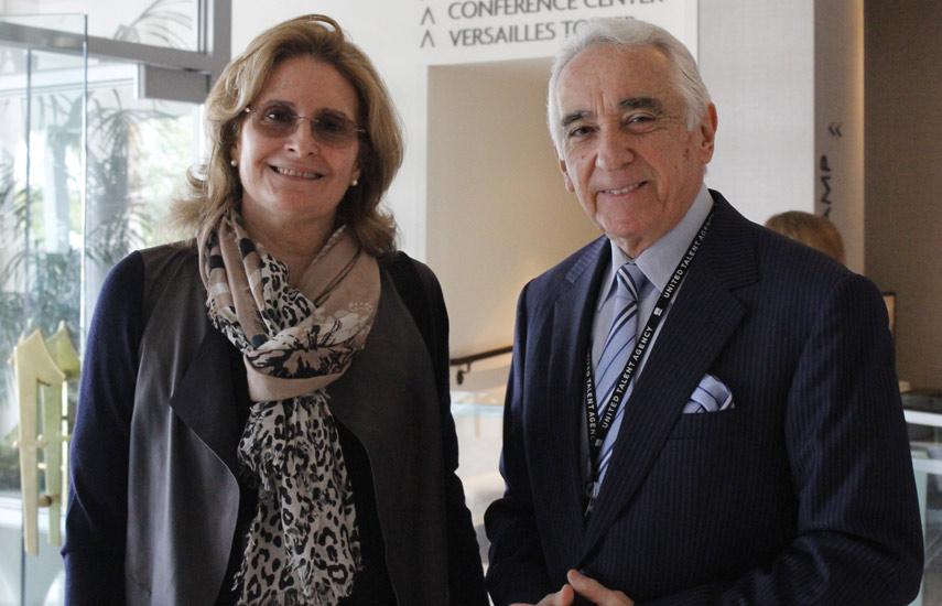 Amina Galdo y Eladio Lares de RCTV