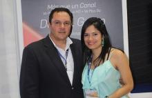 Carlos Cabrera y Karys Machado de VE plus.