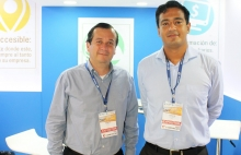 Homero Bosch y Joaquín Estrada de Byte.