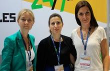 Victoria Vorontsova, Kalina Melikyány y Stella Cipolat de RT