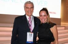 Carlos Bardasano de Cisneros Group y Karen Barroeta, de Telemundo.